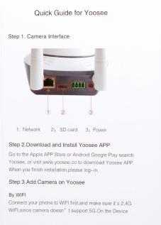 Annke® SP5 H.264 720P 1.0 Mega-Pixel HD Wi-Fi Network IP Camera.